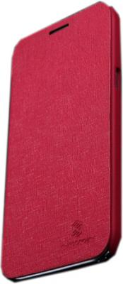Чехол-флип для Samsung N7100 Nillkin Crossed Style Bright Red - общий вид