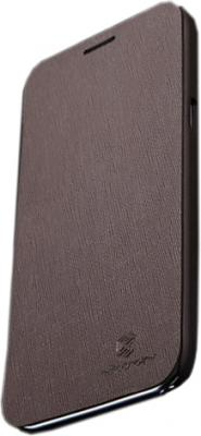 Чехол для телефона Nillkin Crossed Style Brown (для N7100) - общий вид