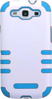 Чехол для Samsung I9300 Nillkin Meow Star White-Blue - общий вид