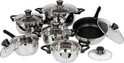 Набор кухонной посуды BergHOFF Carino 1112312 - общий вид