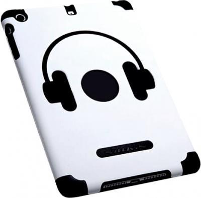 Задняя крышка для планшета Nillkin Music Style White-Black - общий вид