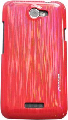 Задняя крышка для HTC One X Nillkin Dynamic Color Cherry Red - общий вид