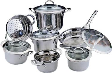 Набор кухонной посуды BergHOFF Tulip 1112282 - общий вид