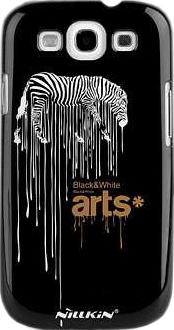 Задняя крышка для Samsung I9300 Nillkin Art Show Zebra - общий вид