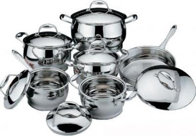 Набор кухонной посуды BergHOFF Zeno 1112275 - общий вид