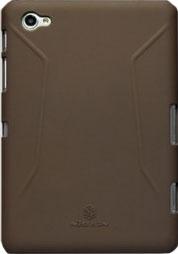 Задняя крышка для планшета Nillkin Super Frosted Brown (для Samsung P6200) - общий вид