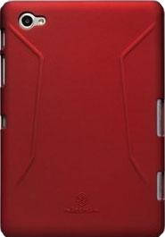 Задняя крышка для планшета Nillkin Super Frosted Red (для Samsung P6200) - общий вид