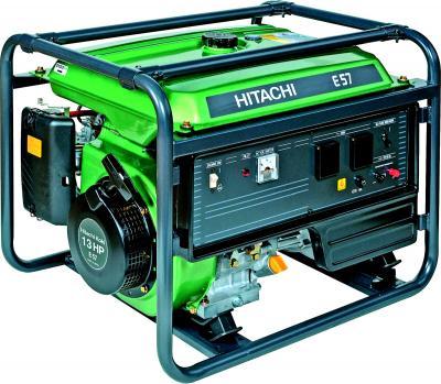 Бензиновый генератор Hitachi E57 - общий вид
