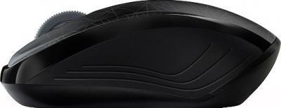 Мышь Rapoo 3100p (черно-серый) - вид сбоку
