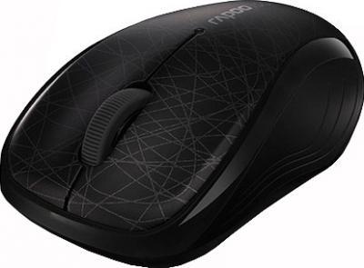Мышь Rapoo 3100p (черно-серый) - общий вид