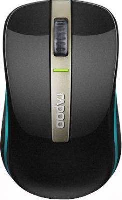 Мышь Rapoo 6610 (черный) - вид сверху