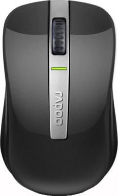 Мышь Rapoo 6610 (серый) - вид сверху