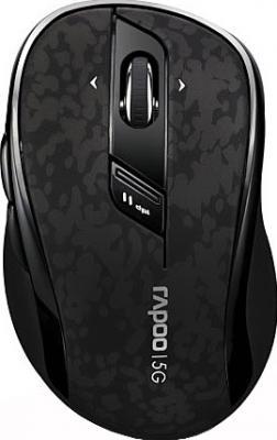 Мышь Rapoo 7100P Black - вид сверху