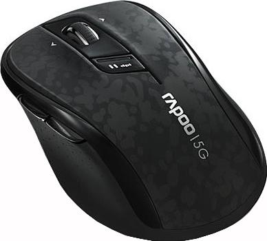 Мышь Rapoo 7100P Black - вид сбоку