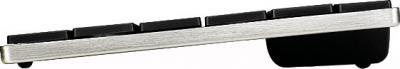 Клавиатура Rapoo E6300 (черный) - вид сбоку