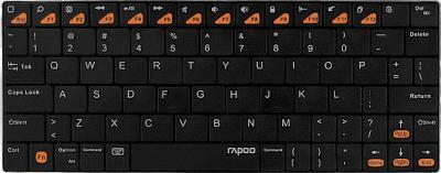 Клавиатура Rapoo E6300 (черный) - вид спереди