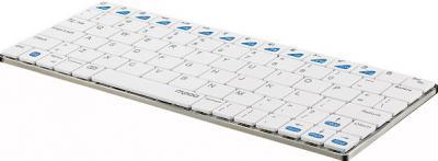 Клавиатура Rapoo E6300 (белый) - вид сбоку