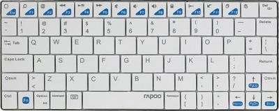 Клавиатура Rapoo E6300 (белый) - вид спереди