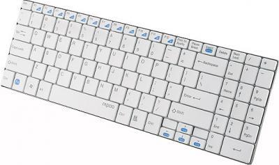 Клавиатура Rapoo E9070 (белый) - вид сбоку