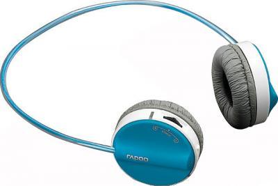 Наушники-гарнитура Rapoo Wireless Stereo Headset H3050 (синий) - общий вид
