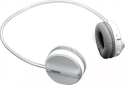 Наушники-гарнитура Rapoo Wireless Stereo Headset H3050 (серый) - общий вид