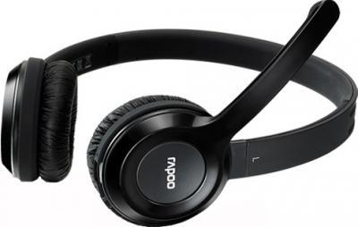 Наушники-гарнитура Rapoo H8030 (черный) - общий вид