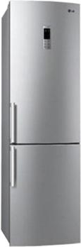 Холодильник с морозильником LG GA-B489ZLQA - общий вид