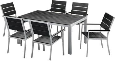 Комплект садовой мебели Sundays Kira 780209 - общий вид