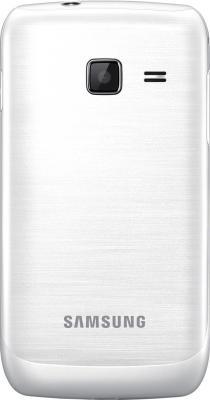 Мобильный телефон Samsung C3312 Rex 60 Duos Pearl White - задняя крышка