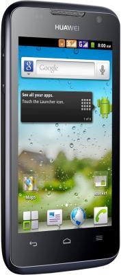 Смартфон Huawei Ascend G302D (U8812D) Black - общий вид