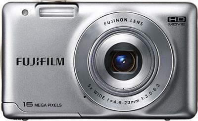 Компактный фотоаппарат Fujifilm FinePix JX550 Silver - вид спереди