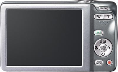 Компактный фотоаппарат Fujifilm FinePix JX550 Silver - вид сзади
