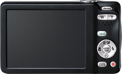 Компактный фотоаппарат Fujifilm FinePix JX550 Black - вид сзади
