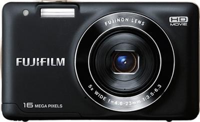Компактный фотоаппарат Fujifilm FinePix JX590 Black - вид спереди
