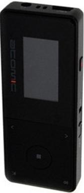 MP3-плеер Atomic F-30 (4Gb) Black - общий вид