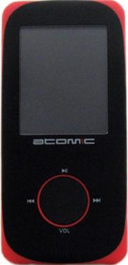 MP3-плеер Atomic S-150 (4Gb) Black-Red - общий вид