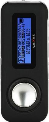 MP3-плеер TeXet T-279 (4Gb) Black - вид спереди