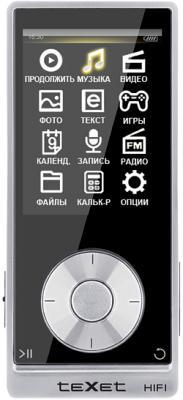 MP3-плеер TeXet T-489 (4GB, черный) - общий вид