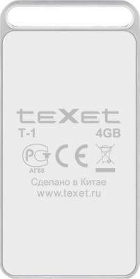 MP3-плеер TeXet T-1 (4GB) White - вид сзади