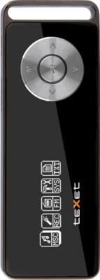 MP3-плеер TeXet T-11 (4GB) Black - вид спереди
