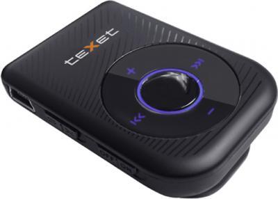 MP3-плеер TeXet T-129 (4GB) Black - вид сбоку