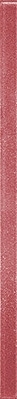 Бордюр для ванной Керамин Фреш 1 (400x20, розовый)