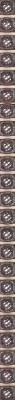 Бордюр Керамин Бисер 4 (246x9.27, коричневый)