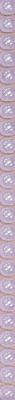 Бордюр Керамин Бисер 6 (246x9.27, сиреневый)