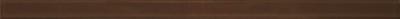 Бордюр Керамин Соло 3 (400x20, коричневый)