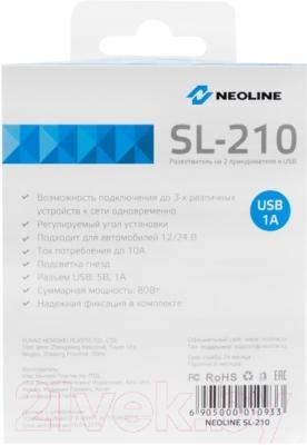 Разветвитель в прикуриватель NeoLine SL-210