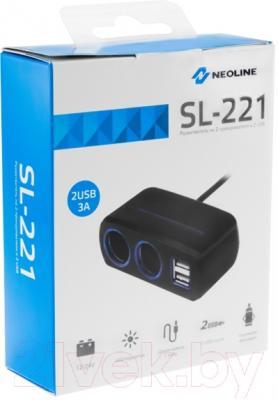 Разветвитель в прикуриватель NeoLine SL-221