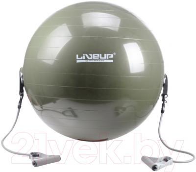 Фитбол с эспандерами LIVEUP LS3227