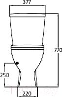 Унитаз напольный Ideal Standard Oceane W903801