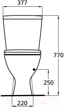 Унитаз напольный Ideal Standard Oceane W904401